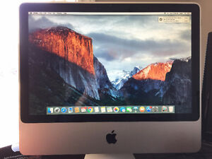Apple iMac 20-inch, Mid 2009 2.26 GHz Intel Core 2 Duo, 5 GB Ram