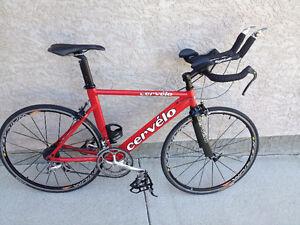 Older Cervelo P2K Tri bike 48cm