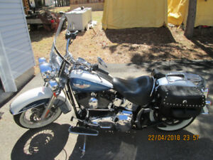 SUPER DEAL ON A LOW K MINTY 2005  SOFTAIL DELUXE