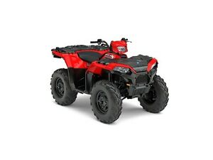 2017 Polaris Sportsman 850 Indy Red