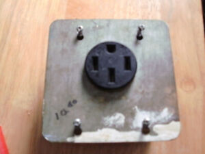 STOVE/RANGE RECEPTICLE OUTLET AND BOX