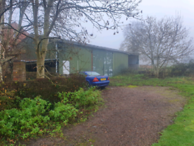 Steel agricultural barn 60x30ft
