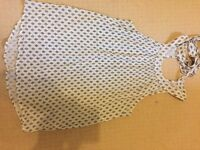 Women's patterned blouse size 10