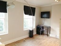 All bills included - Large studio apartment in Leigh Street, Bloomsbury, London WC1H - Free wifi
