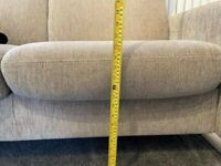 Ekornes Stressless Recliner 2 seater sofa - Fabric Beige