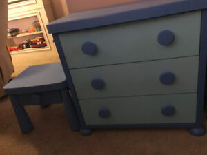 Kids dresser and end table