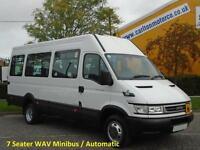 Iveco DAILY 50c14 Minibus 7s Automatic Wheelchair Wav Low mileage 2006/ 56