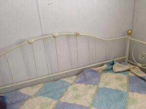 Day bed. Wrought Iron style. & dresser for girls room Edmonton Edmonton Area image 1