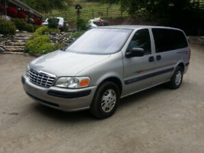 1999 Chevrolet  Ventura 4 Door Van For Sale