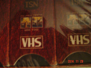 """SPORTS COLLECTOR'S - 6 VHF TAPES -""""100 YEARS OF CANADIAN SPORTS"""" Windsor Region Ontario image 4"""