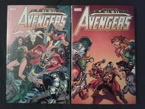 Collection of AVENGERS Graphic Novels (Operation Galactic Storm)