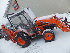 Used Kioti CK30 Tractor with Backhoe
