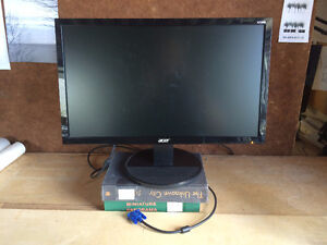 "Acer 20.7"" 60Hz 5ms TN LCD Monitor"