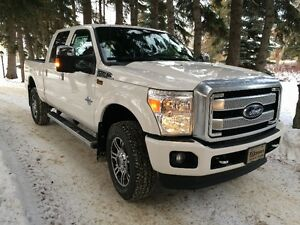 2014 Ford F-350 4X4 6.7L PLATINUM