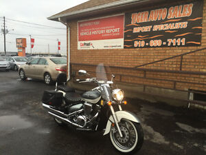 SOLD**2011 SUZUKI BOULEVARD C50T CUSTOM TOURING*ONLY 16KM*SOLD