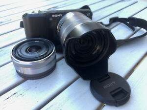 Sony NEX-3K mirrorless camera