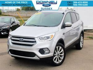 2017 Ford Escape Titanium TITANIUM 4WD/ PANORAMIC ROOF AND NAV!