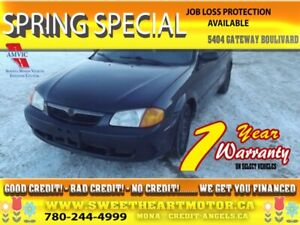 2000 Mazda Protege 4dr Sdn        3 months free warranty