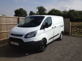2014 64 Ford Transit Custom 2.2TDCi ( 100PS ) ECOnetic 1 OWNER FROM NEW +VAT