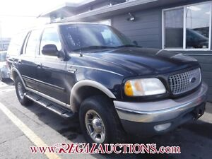 1999 FORD EXPEDITION  4D UTILITY 4WD