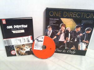 One direction books and cd