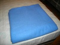 2 COTTON/POLY BLANKETS     TOASTY WARM