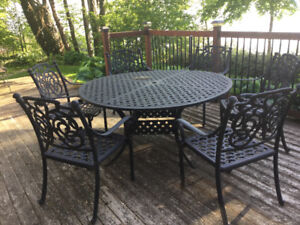 PATIO TABLE + CHAIRS FOR SALE