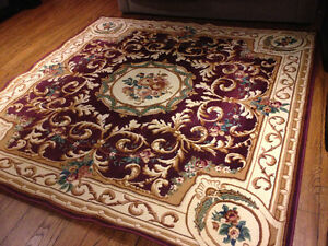 Beautiful large patterned rug