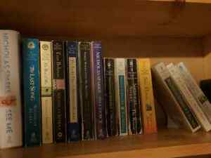Collection of Nicholas Sparks books