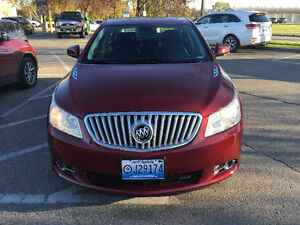 2010 Buick LaCrosse CXL Sedan WITH CAR PROOF