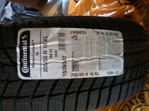 New continental snow tires