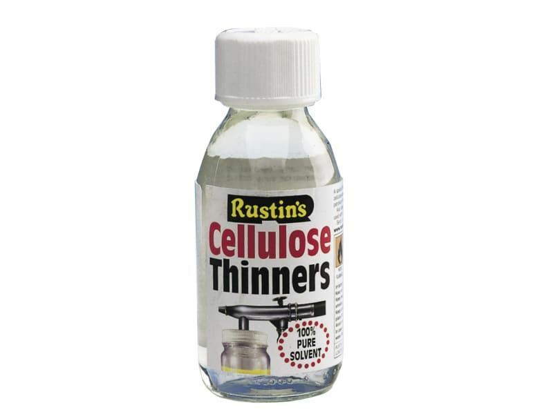 Rustins Cellulose Thinners - Special Blend of Pure Solvents - 125ml