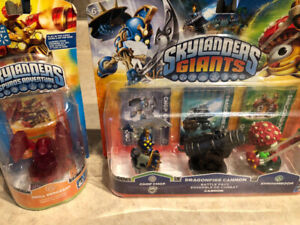 BOXED NEW SKYLANDERS FROM GIANTS AND SPYRO'S