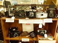 Vintage Cameras, SLRs, Folding Cameras, Collectable Cameras & Accessories, Bags ,Nikon, Canon, Leica