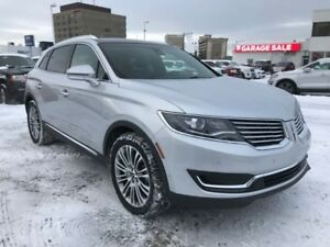 2017 Lincoln MKX Reserve  Park Assist, 360 Camera, Heated Wheel,
