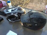 2 dirt bike helmet