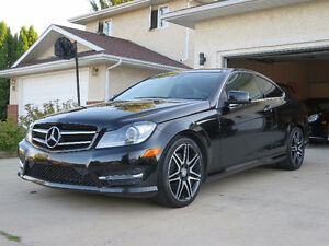 2015 Mercedes-Benz C-Class C350 4matic All wheel drive Coupe