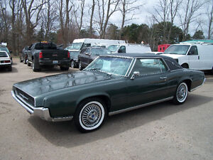 SOLD 1967 FORD THUNDERBIRD 2DR V8 AUTO PENDING $