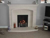 """""""Denton"""" fireplaces"""