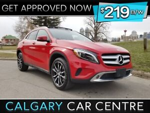 $219B/W MERCEDES GLA250 TEXT US FOR EASY FINANCING! 587-317-4200