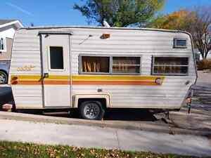 1977 Coachmen Cadet 17ft travel trailer