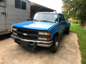 1996 Chevy 3500k 6.5L 4x4 PROJECT!!