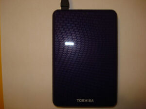 Toshiba 750Gb external hard drive