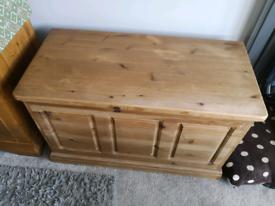 Pine Blanket Box /Chest