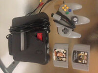 Nintendo 64 with Games!