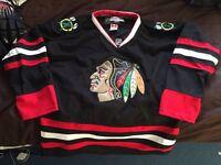 Chicago blackhawks ice hockey jersey large