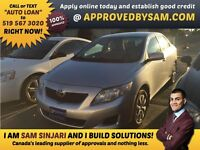 "CAR LOANS MADE EASY - COROLLA - TEXT ""AUTO LOAN"" TO 519 567 3020"