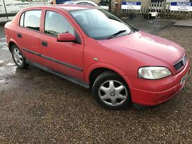 2002 '02' Vauxhall Astra 1.6. Petrol. Manual. 5 Door. Cheap Runner. Px Swap