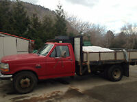 Further Reduced 1994 F350 dually Diesel dump truck, new tranny