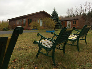 Pine Log Home in Private Setting-Perry & Cherie-NL Island Realty